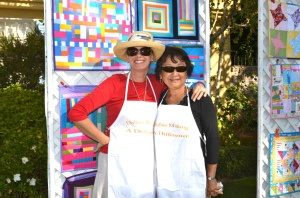 Cindy and Dorothy -DOLLIES MAKING A DIFFERENCE.
