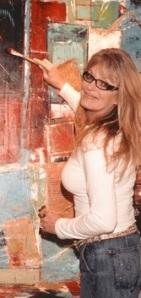 me painting in studio 2007