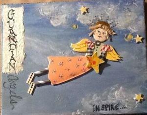 Artist Susan Lane sends an angel to VADA Arts